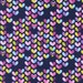 Birds and the Bees Love Bug Navy by Michael Miller DC6825 - Hearts Blue - 100% Cotton Woven Quilt Fabric - by the yard fat quarter half