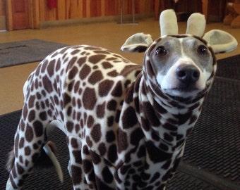 Italian Grey Giraffe costume