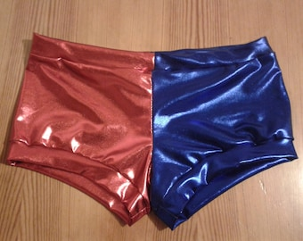 Harley Quinn Suicide Squad style cosplay shorts