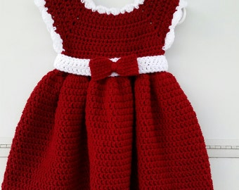 The Little Red Christmas Dress