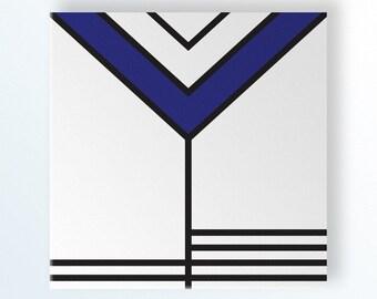 minimal art, geometric wall art, canvas print, scandinavian, modern wall art, mid century modern art, de stijl