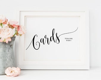 Printable Wedding signs, Cards and Gifts Sign, Cards wedding sign, Gift sign, wedding signs print, Wedding download, Wedding sign Rustic