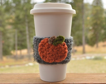 Pumpkin Coffee Sleeve Cozy