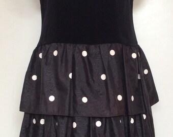 1980s ROCKABILLY WOMAN Made in West Germany VINTAGE Dress Kleid