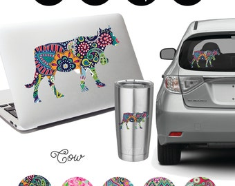 Cow Decal