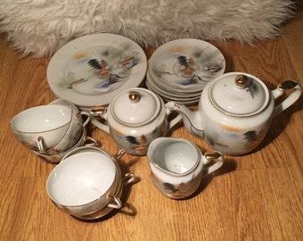 Vintage Hayasi Fine China Tea set