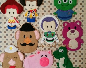 Toys Finger Puppets Set