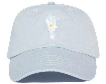 Argentina Hat - Light Blue