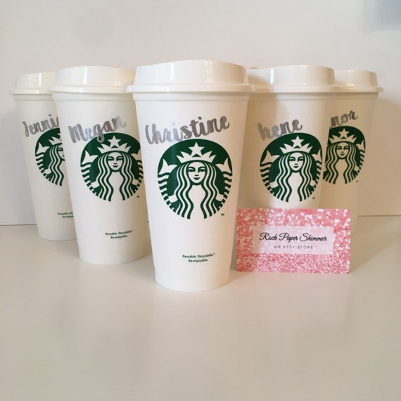 Starbucks custom tumbler for Starbucks personalized tumbler template