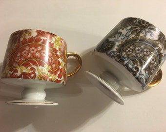 Royal Paisley Teacups (set of two)