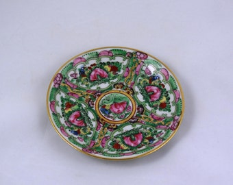 Rose Medallion Saucer