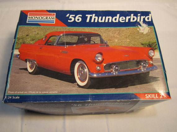 1956 Ford Thunderbird Model Kit