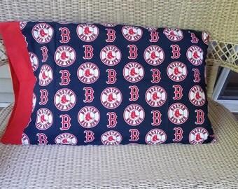 Boston Red Sox Standard Size Pillow Case