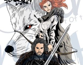 Game of thrones Winter Print