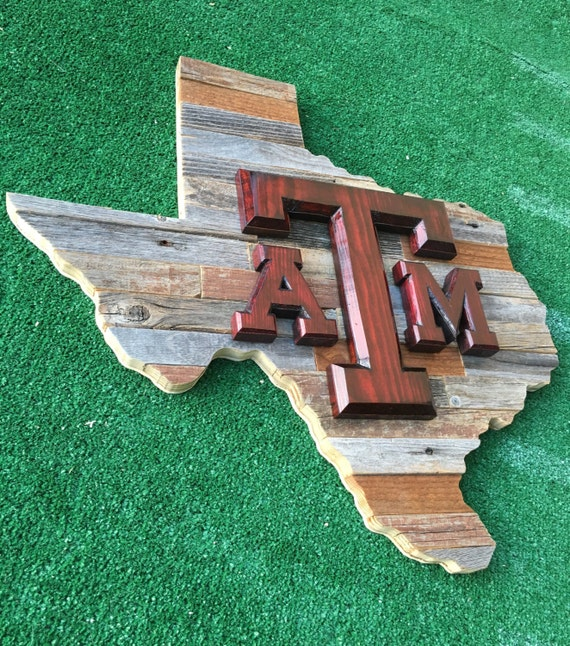 Ratings Feedback For Gavan Wood Painting Decorating: Texas A&M Reclaimed Wood Sign