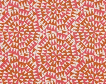 BEACON HILL SHAMIANA Geometric Linen Fabric 5 Yards Marigold