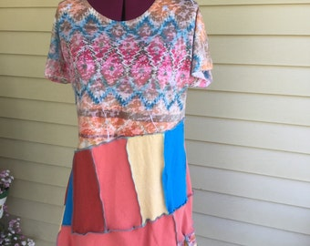 Upcycled Tunic Top