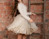 Tulle skirt with sparkle lining. Shine bright like a diamond!;)