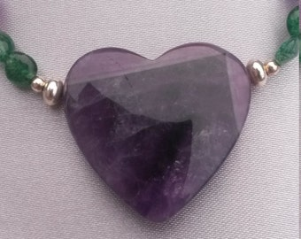 amethyst and aventurine
