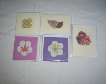 Selection of 5 Handcrafted Cards