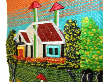 patchwork wall hanging   etsy, Hause ideen
