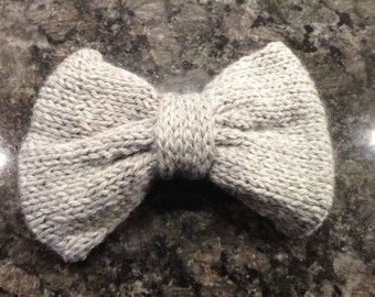 Large Gray Bow