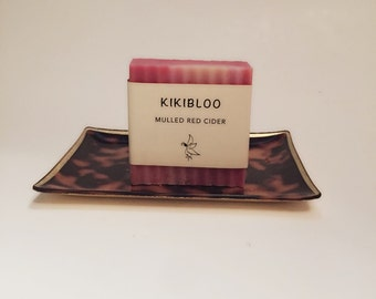 Mulled Red Cider Soap Vegan Organic Cold Process Soap By kikibloo