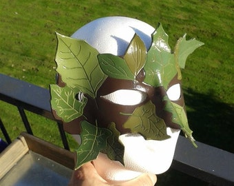 "Leather Mask ""Dryad"""
