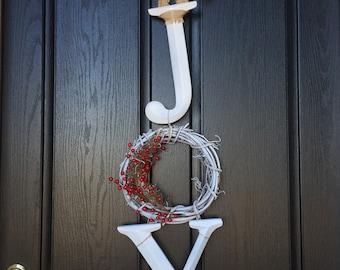 joy door hanger   CHRISTMAS