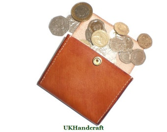 Leather Coin Purse, Leather Coin Holder, Leather Coin Wallet, Leather Pocket Purse, Leather Coin Wallet, Coin Purse, Coin Purse Leather