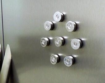 """SUPER DUPER Strong magnets...Federal """"12 Ga Made in USA"""" head stamp magnets!!! / bullet magnets / shotgun shell magnets / fridge magnets"""