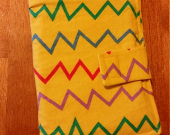 SALE - Crayon Travel Wallet with Crayons and Paper