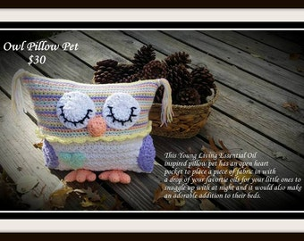 Owl Pillow Pet