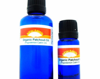 Organic Patchouli Essential Oil ~ Pure Essential Oil ~ Aromatherapy ~ Massage ~ Fragrance