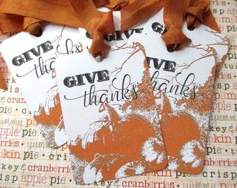 Thanksgiving, Thanksgiving Tags, Tags, Vintage Halloween, Gift Tags, Pumpkin Tags, Autumn Tags, Autumn