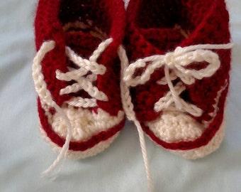 High top baby sneakers