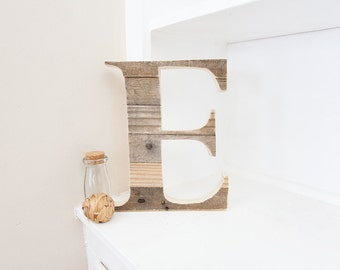 Wood Letter | Wooden Letter | Woodland Nursery | Pallet Letter | Nursery Wall Letter | Wall Letter | Rustic Letter | Rustic Home Decor