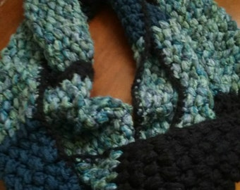 colorful infinity scarves made to order~