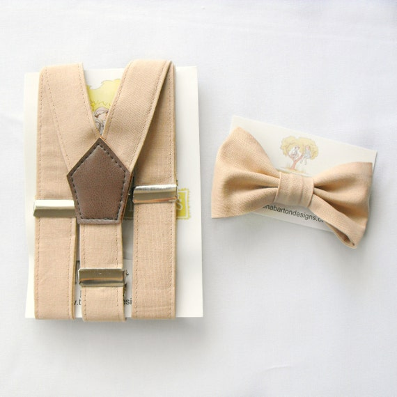 BOW TIE AND SUSPENDER SETS. A sharp-looking pair of suspenders already sets the stage for an elegant outfit, but when you add a matching bow tie, you really elevate the look.