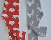 Baby Children Handmade Leggings Organic Cotton Interlock Fabric. Pick your Fabric, Baby Pants, Baby Leggings,toddler leggings. NB up to 5T