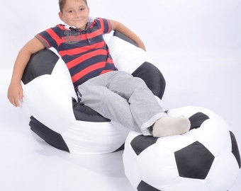 Kid's Bean Bag Chair with FILLING!