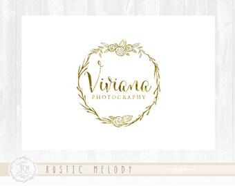 Photography Logo Design Boutique Logo Watercolor Logo Decor Logo Design Watermark