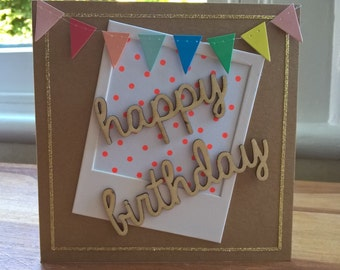 Happy Birthday Polkadot card