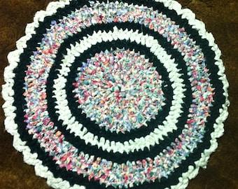 Round Fabric Rug