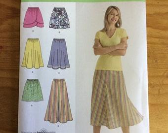 Simplicity 2368, skirts, pattern, sewing pattern