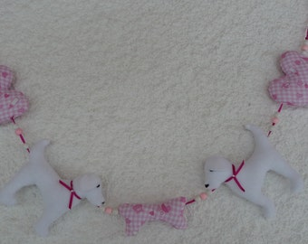 Garland for dog lovers