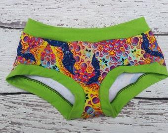 Bat panties - Halloween panties - funny panties - cute panties - cotton panties - hippie panties - underwear - panties - undies - cute