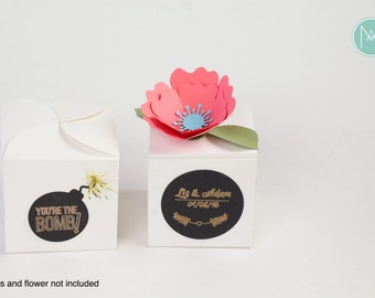 Favor Box Templates