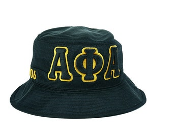 Alpha Phi Alpha Fraternity Greek Letters Bucket Hat APAH1