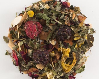 Raspberry Mint Medley Herbal Tea